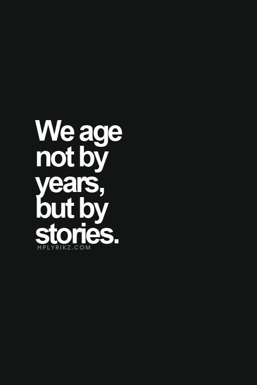 What are the stories we tell ourselves and do they lead us to health and vitality or the opposite.