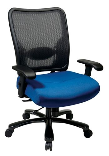 big and tall task chair 400 lb weight capacity star space office