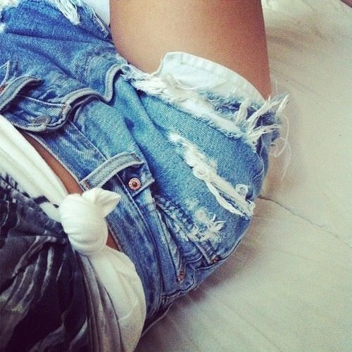 denim cut offs