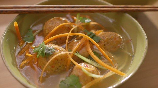 Boulettes de poisson à l'asiatique | Cuisine futée, parents pressés