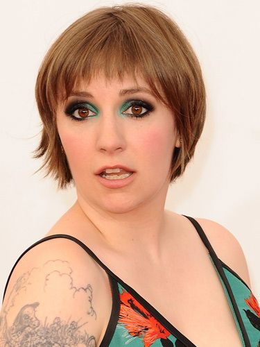 Hmmm. Lena Dunham's Emmys makeup | Love the Look | Lena ...