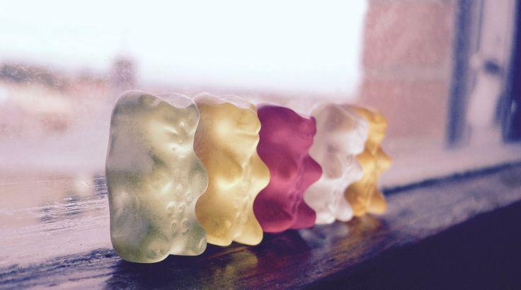 Homemade gummi candy has never been cuter
