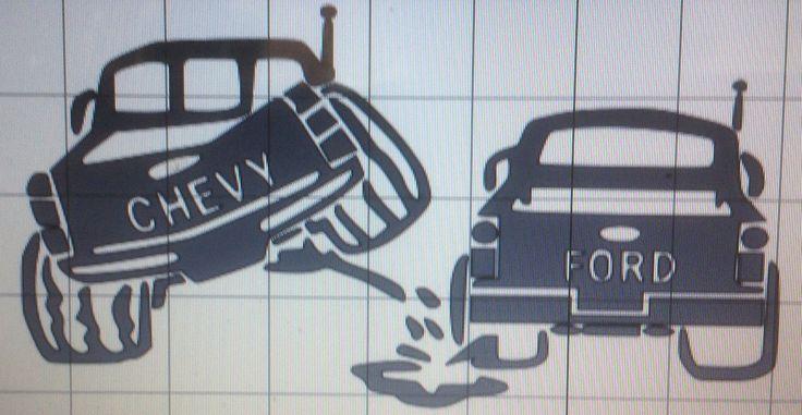 Peeing on chevy trucks