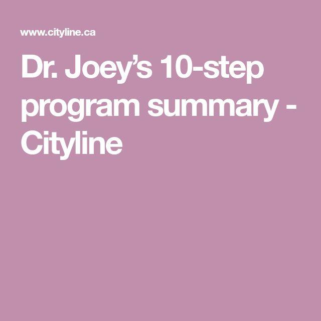 Dr. Joey's 10-step program summary - Cityline