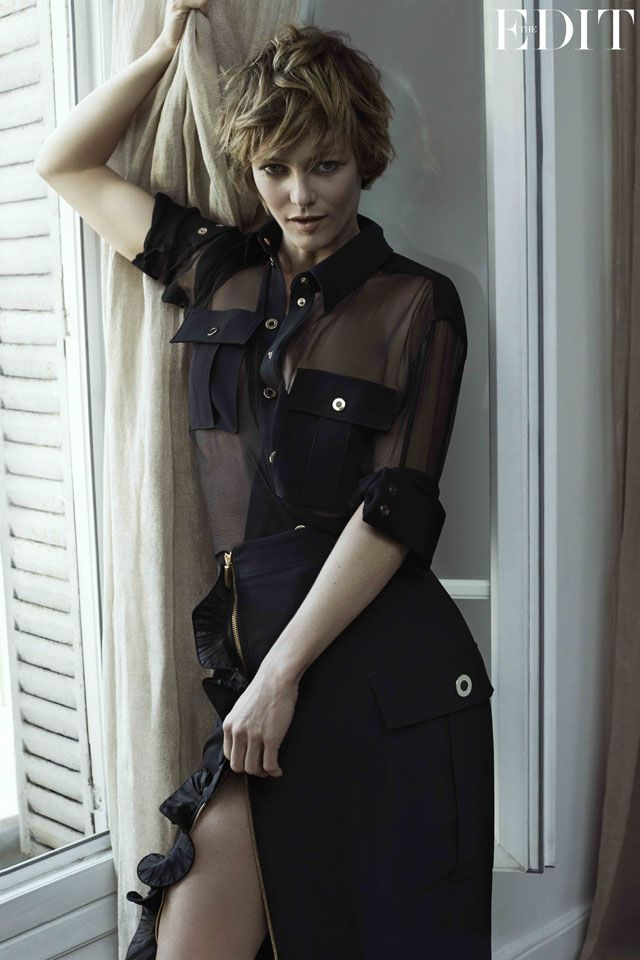 Vanessa Paradis is the coverstar of Net-A-Porter's The Edit magazine - MyDaily UK
