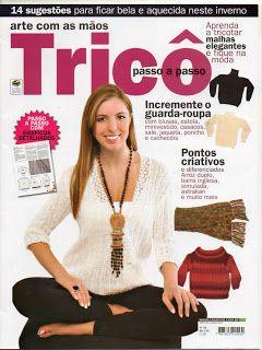 Fernanda em Fios: Revista Arte com as mãos trico nº 08 01/05