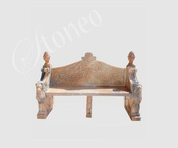 Pylos - ławka kamienna