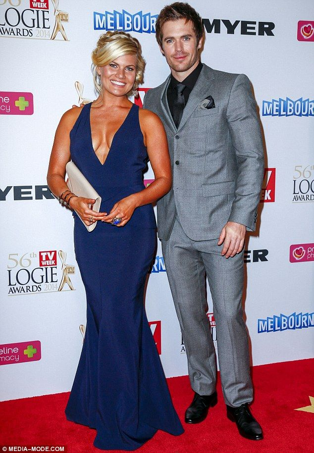 Bonnie Sveen & Kyle Pryor Logies 2014