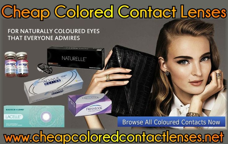 Cheap Colored Contact Lenses Banner #2