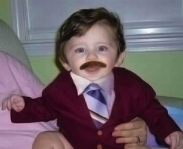 Ron Burgundy | 22 Amazing Kids' Halloween Costumes That They're Too Young To Understand