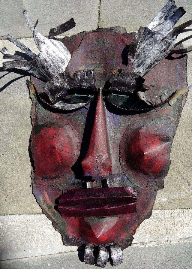 roofing felt mask