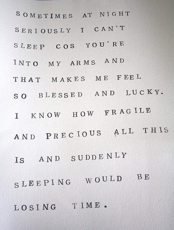 a good reason for insomnia