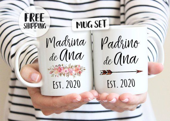 Godmother Loves Me Spanish baby clothing Spanish Godmother godmother God daughter gift Mi Madrina me quiere Madrina baptism gift