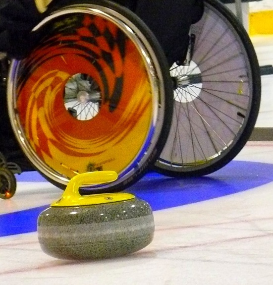Nice wheels! World Curling Federation- About Wheelchair Curling.