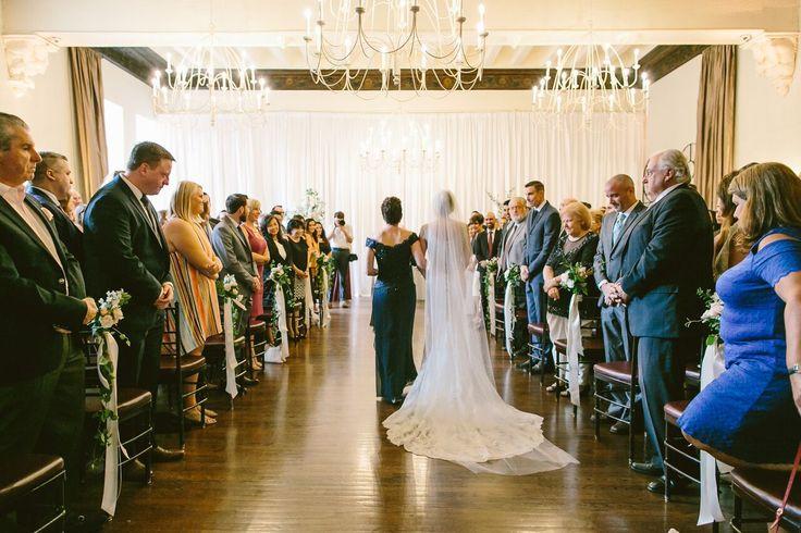 Ballroom Ceremony | Alden Castle: A LONGWOOD Venue | Shane Godfrey Photography