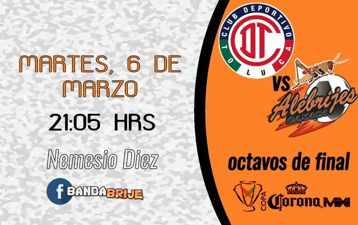 El equipo de Toluca recibe en la cancha del Estadio Nemesio Díez (Toluca de Lerdo) a Alebrijes Oaxaca en partido de <a href='https://tv.futboladiccion.com/copa-mx/'>Copa MX</a>. El juego corresponde a la jornada                                  04:05                             . Mientras que la transmisión de Toluca vs Alebrijes en Vivo será por medio de ESPN3 Sur. En unos instantes descubre en que otro canal juega Toluca y otros detalles.