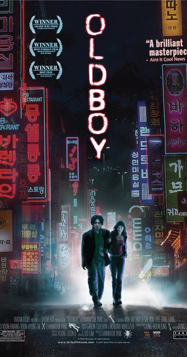 Directed by Chan-wook Park.  With Min-sik Choi, Ji-tae Yu, Hye-jeong Kang, Dae-han Ji. After being kidnapped and imprisoned for 15 years, Oh Dae-Su is released, only to find that he must find his captor in 5 days.