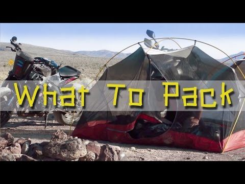 What to pack for a Motorcycle Adventure Trip VIDEO HERE #RoadTrip #Adventure @alpinestars