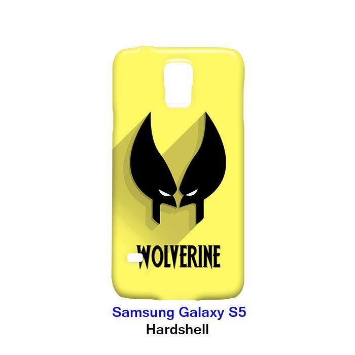 Wolverine Superhero Samsung Galaxy S5 Hardshell Case