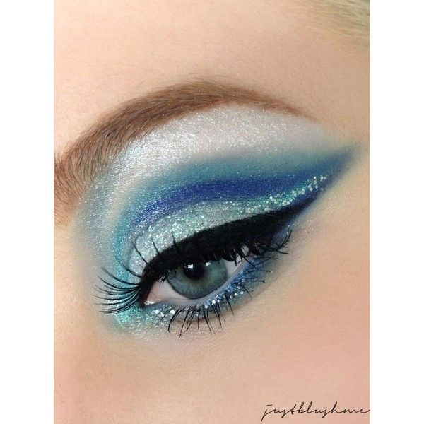 [AMU] Ice Queen ❤ liked on Polyvore featuring beauty and makeup                                                                                                                                                                                 More