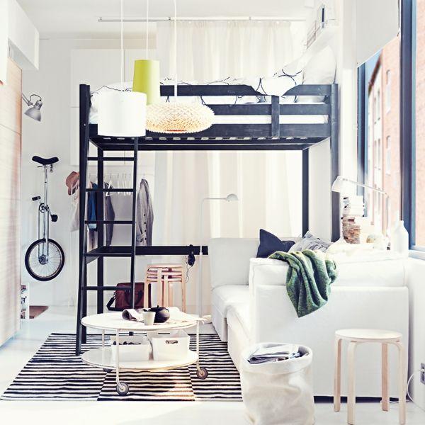 60 ides pour un amnagement petit espace etagenbetten ikea etagenbett - Doc Sofa Etagenbett Ikea