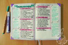 La fabuleuse liste des 50 objectifs dans mon bullet journal