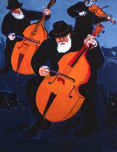 """EDWARD DWURNIK """"Galicja"""", 2001 r. olej/płótno, 146 x 114 cm"""