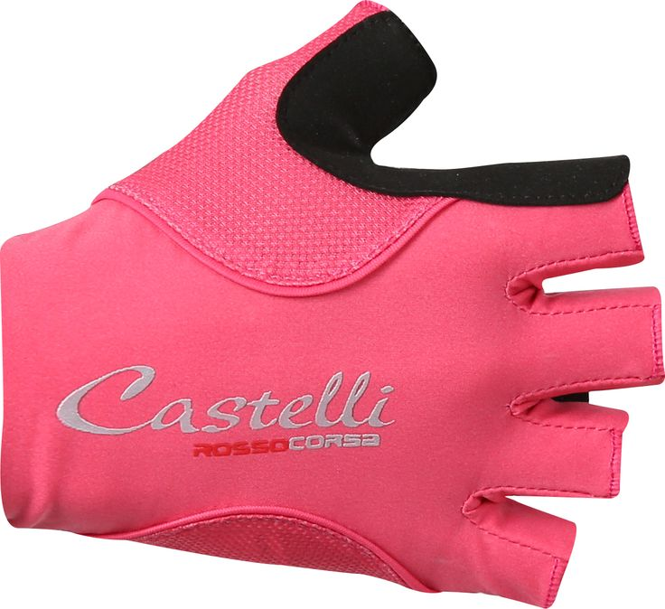Castelli Rosso Corsa Pave Womens Glove - Raspberry/Pale Blue
