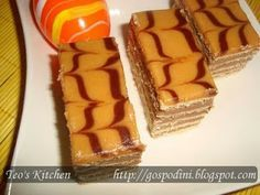 Prajitura Dobos - Retete culinare by Teo's Kitchen                                                                                  http://www.retetecalamama.ro/retete-culinare/prajituri-torturi/tort-dobos.html
