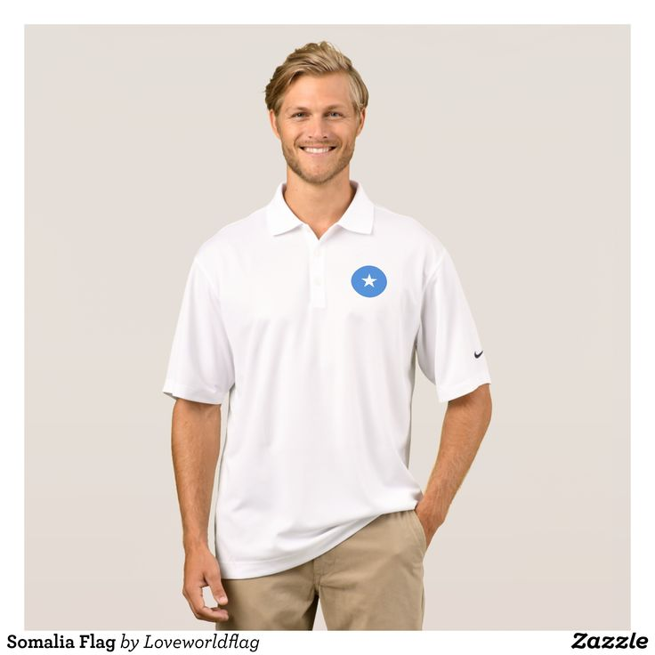 Somalia Flag Polo Shirt - Cool And Comfortable Golfer Polo Shirts By Talented Fashion & Graphic Designers - #polo #gold #golfing #mensfashion #apparel #shopping #bargain #sale #outfit #stylish #cool #graphicdesign #trendy #fashion #design #fashiondesign #designer #fashiondesigner #style
