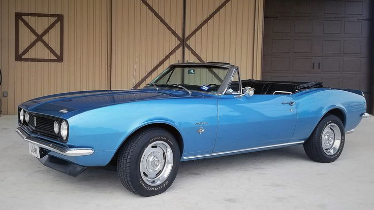 1967 Chevrolet Camaro Convertible Old Rides 5