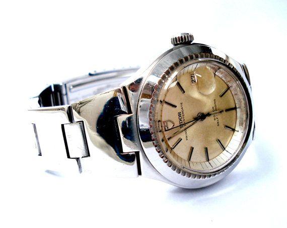 Vintage Reloj Suizo ROLEX TUDOR Prince Oysterdate por shopvintage1