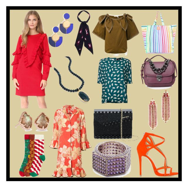 """""""Crazy look"""" by cate-jennifer ❤ liked on Polyvore featuring Suncoo, Happy Socks, Las Bayadas, Marc Ellis, Deux Lux, Rebecca Minkoff, Tome, Kendra Scott, Tory Burch and Joanna Laura Constantine"""