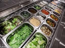 Afbeeldingsresultaat voor salade bar