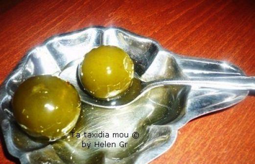 Συνταγή: Γλυκό Κουταλιού Πράσινο Νεραντζάκι
