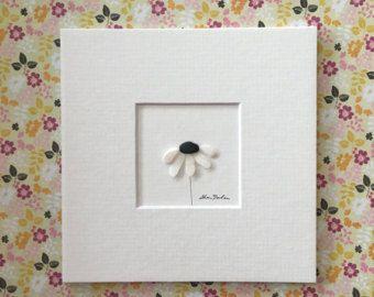 5 x 5 Mini ungerahmt Kiesel Kunst Bild von Sharon von PebbleArt
