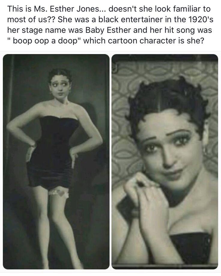 Betty boop esther jones african american black history