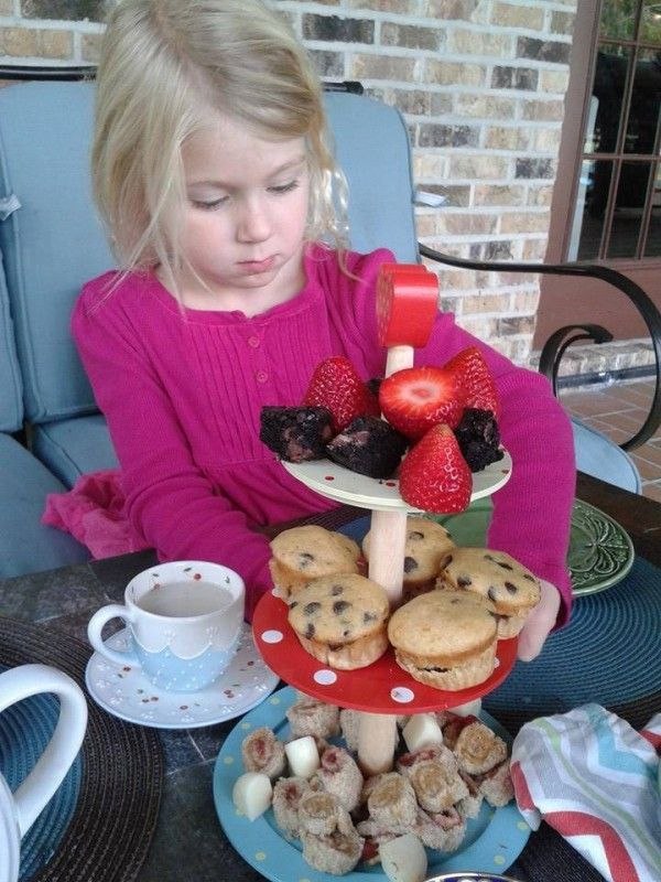Hosting a kids' tea party. A guest post by Ruby! http://www.ladybakersteatrolley.com/time-for-tea-kids-style/