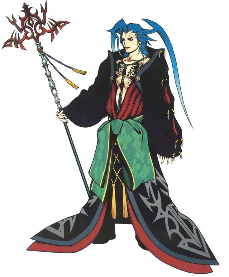 Week 10 - Final Fantasy X - Concept Art Mon - Seymour Guado