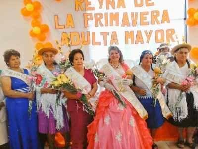 Este miércoles 21 de septiembre, en la Casa del Adulto Mayor se realizó el acto de elección de la Reina de la Primavera del Adulto Mayor 2016, en la q...