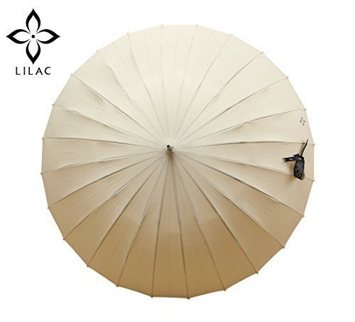 Amazon.com : Lilac Fontainebleau 47-Inch Auto Open Stick Umbrella for Women, masterpiece of craftsman, Purple : Sports & Outdoors