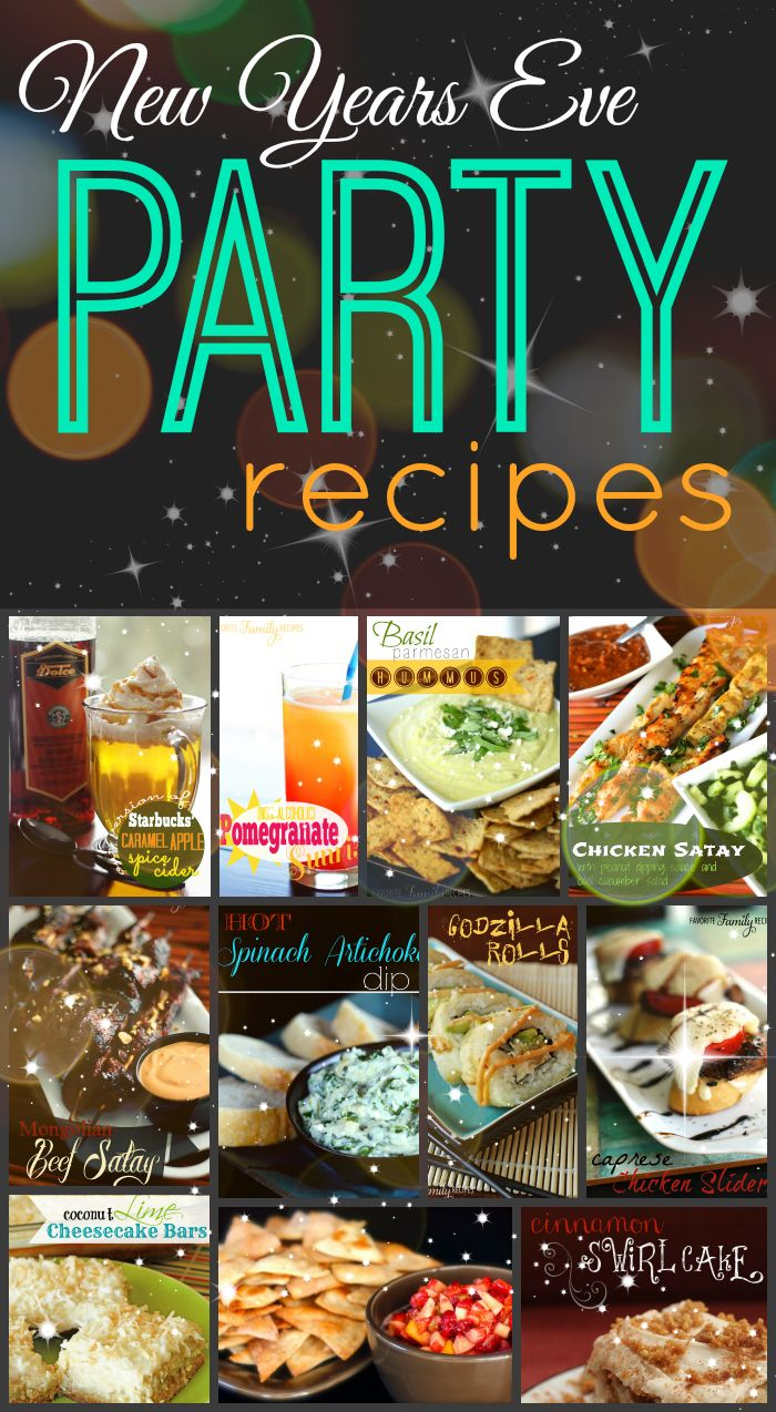 We have put together a tasty list of recipes for New Years Eve, enjoy one last night of fantastic food before the New Years resolutions begin!