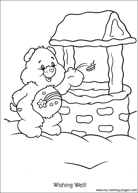 best care bear coloring pages - photo#38
