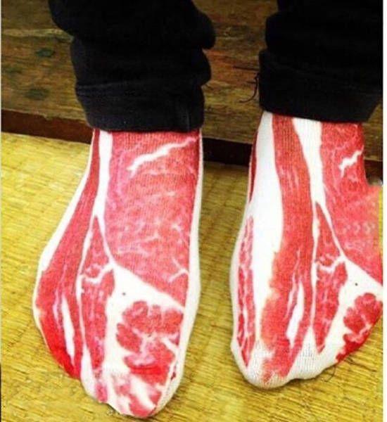 Bacon socks.