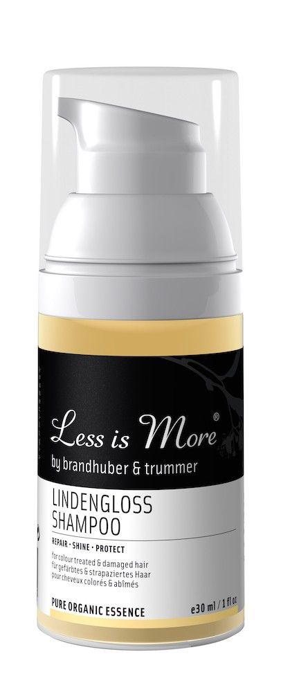 Matkalle mukaan | Less is More Lindengloss Korjaava Shampoo Matkakoko 30ml