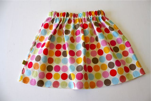 Tutorial for very basic gathered skirt