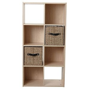 8 Cube Storage System - Natural