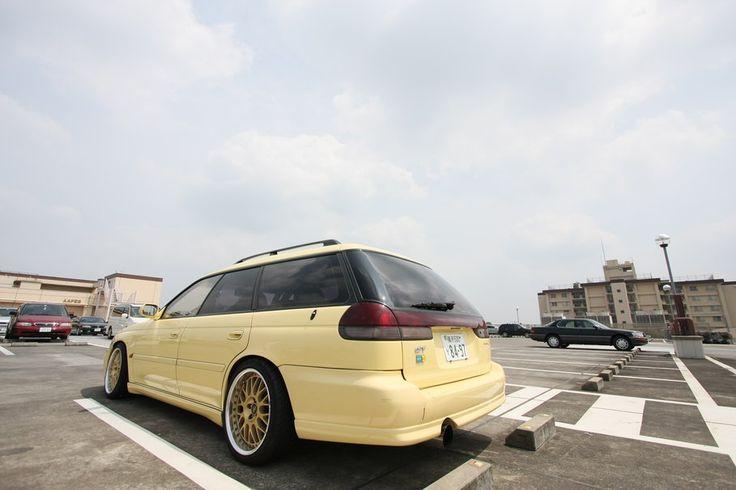 Subaru Legacy BG5 Vetor