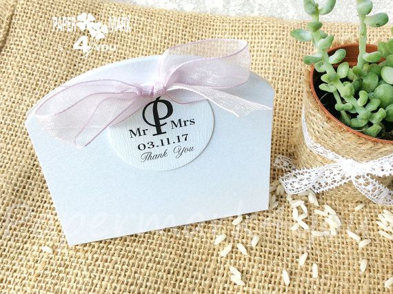 Love is Sweet Wedding Favor Box_ Wedding Rice by PaperMark4You