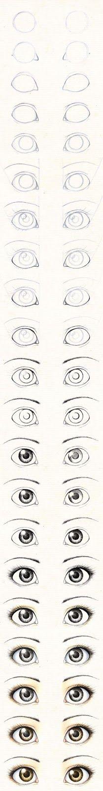 Boneca de Pano: Olhos
